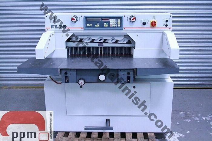 Used Goodhale FL 76 MC Paper Guillotine