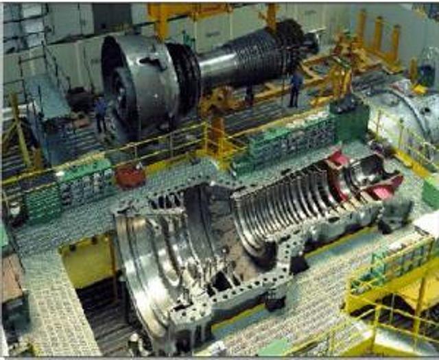 440 MW 2013 New Ansaldo 94.3A4 Natural Gas Turbine