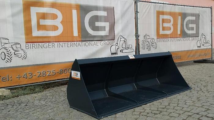 Leichtgutschaufel 220 cm passend zu Euro Aufnahme mit Hardox