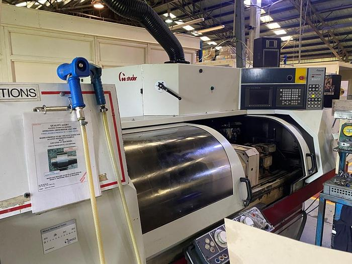 Used 2001 Studer S30 LeanPro CNC ID/OD Cylindrical Grinder