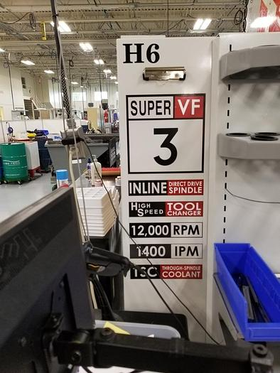 2008 Haas VF3SS with 4th & 5th Axis