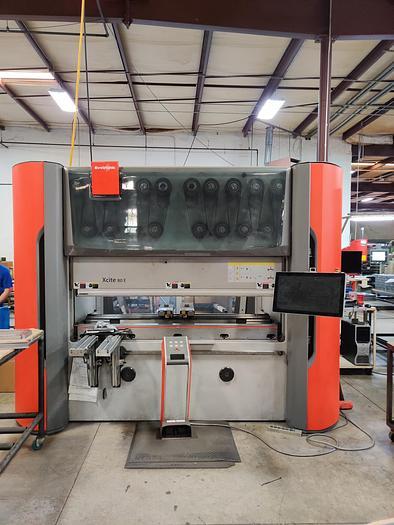 2013 88 Ton Bystronic 'Xcite' 80 E CNC Press Brake
