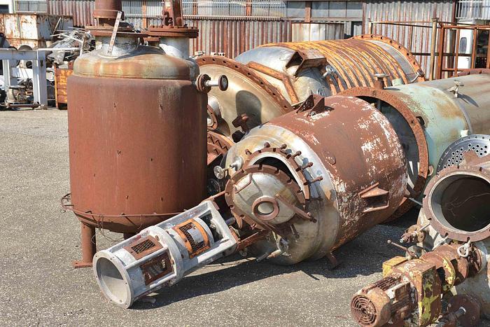 Usata Reattore F.B.M. da 680 Litri