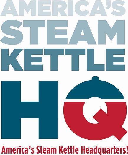 Used HAMILTON 300 GAL. DIRECT STEAM KETTLE w/ DUAL AGITATION & SCRAPE SURFACE, (#771C).