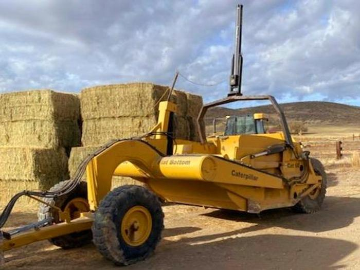 Used Cat 60 Pull Scraper - 13 cyd  ** Converted to All Hydraulic **