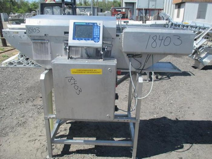 Used Marel Checkweigher; Md#DWU