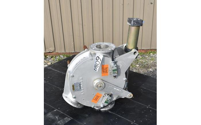 Used USED 4'' TWO WAY DIVERTER VALVE, SANITARY