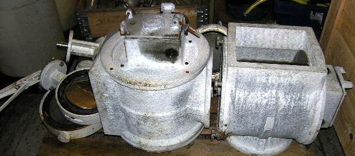 Used Anhydro blow through rotary powder valves, type C2991