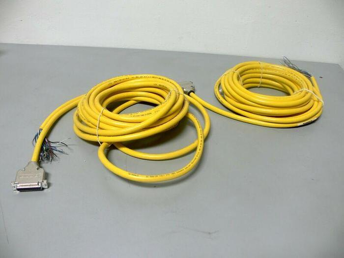 Used Lot of 2 - Turck DB25F-10/CS12365 Connector Cable U-32014