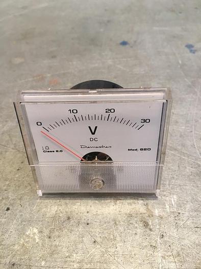 Demestres MOD 620 Analog Voltmeter 0 - 30 VDC