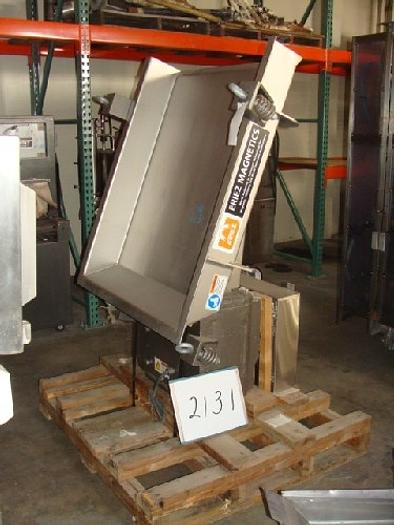 Eriez 36'' Wide Shaker Feeder