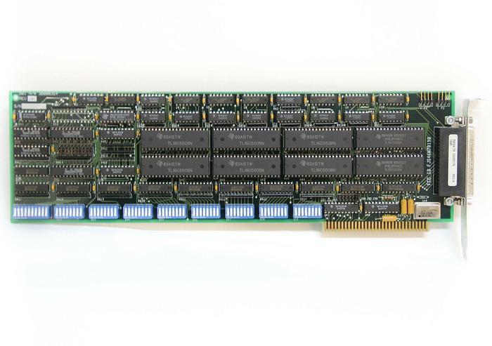 Used DigiBoard DBI A/N 300000354 Rev. N ISA I/O Card FJS46W70198 (1P)50000178 (5329)