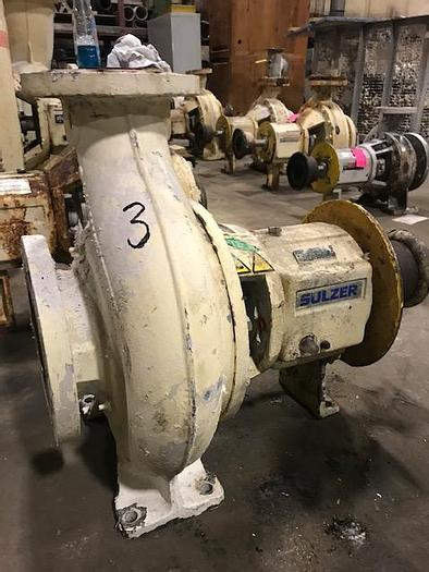 Used VOITH SULZER APT 31-6 CENTRIFUGAL PUMP S/S 2006