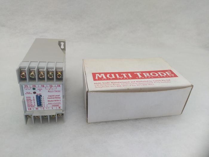 Relay für Flüssigkeitsstandskontrolle MTR 2, Multitrode,  neu