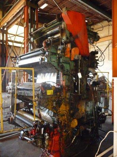 """Used 44"""" wide Wolverine 7 Color Flexographic Stack printing press"""