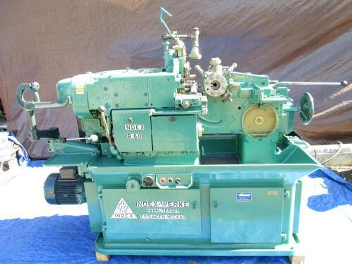 """WICKMAN / INDEX MODEL B 60 AUTOMATIC 2 1/2"""" CAPACITY LATHE WITH TOOLING"""