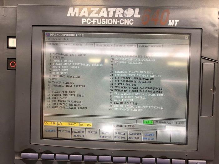 MAZAK INTEGREX 200 Y