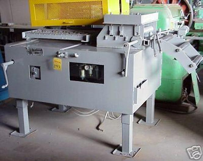"""18"""" x 24"""" COE MDL. CF 325 Straightener/Feeder; 18"""" Wide x 5 Roll Str.; 24"""" Air Feed"""