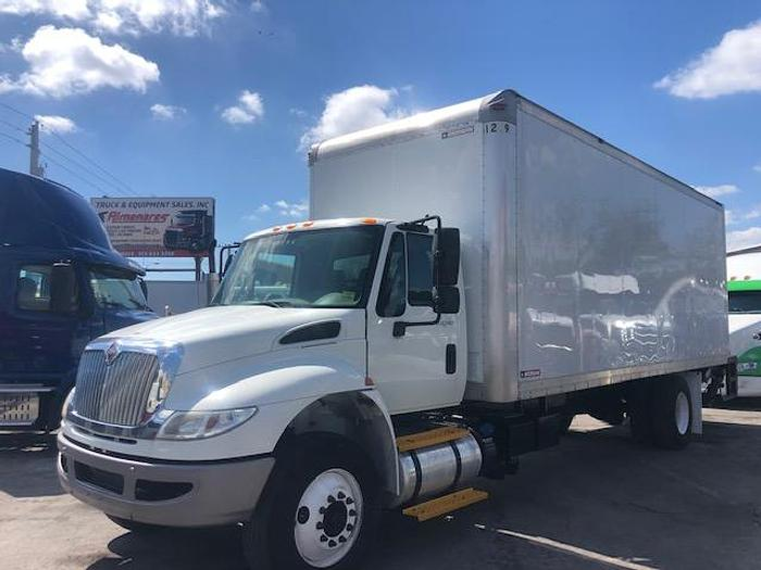 Used 2015 INTERNATIONAL 4300 DRY BOX TRUCK 24 FT