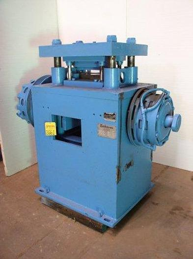Used 50 TON DAHLSTROM Model 50TP High Speed Cut Off Press; 4 Post Type; Air Clutch/Brake