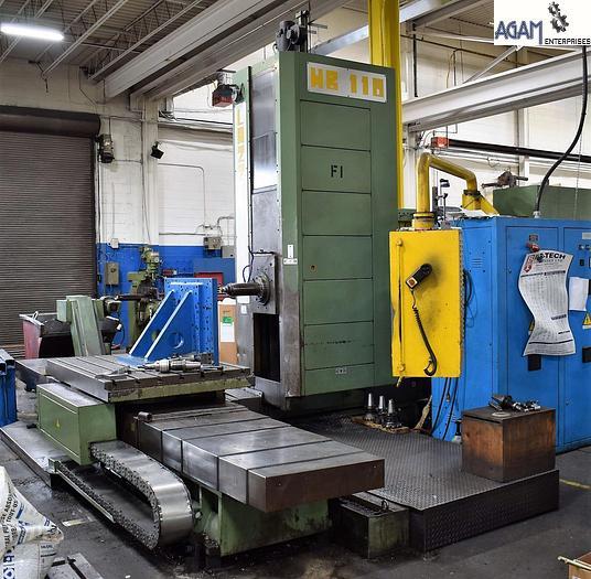 Used Lazzati HB 110 T CNC Horizontal Boring Machine (5 axis)