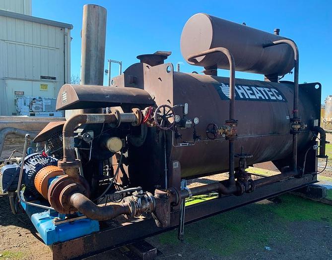 HEATEC HCS-250 Hot Oil Boiler