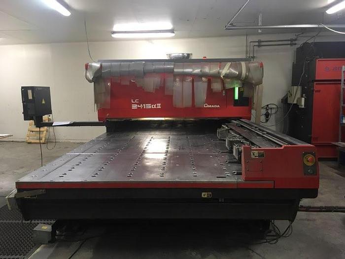 D'occasion Machine de découpe laser marque AMADA / AMADA laser cutting machine