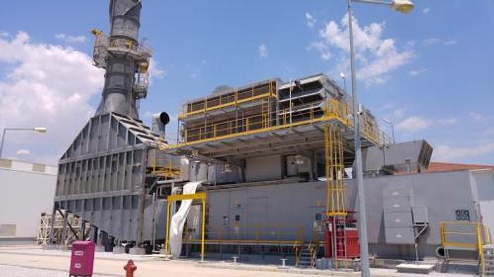 Used 63 MW 2011 Used GE LM6000PC Natural Gas Combined Cycle Power Plant