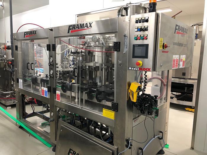 2014 FRAMAX - Monobloc Rinser Filler Capper Bottling Machine MODULBLOCK RFCI -09/08/ 2 -