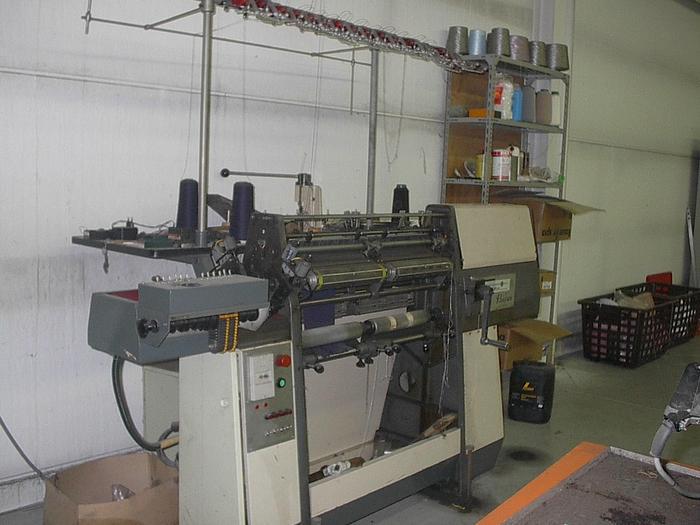 Gebraucht Jacquard-Bänderstrickmaschine REEPEX  200 (2-Kopf E08+12)
