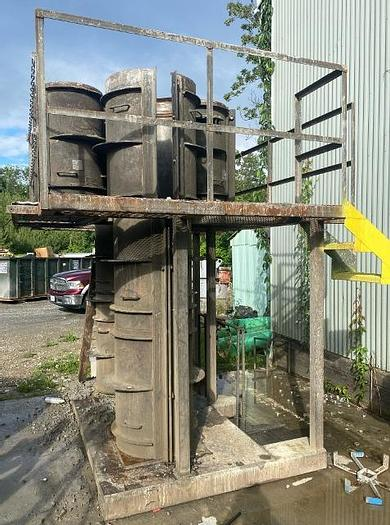 """Used 20"""" and 24"""" Light Pole Base Forms (2)"""