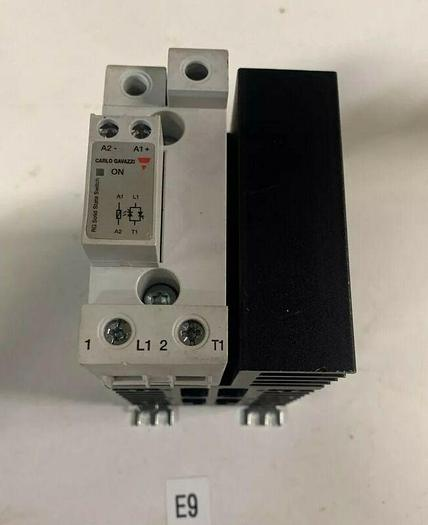 Used Used Carlo Gavazzi RGC1A60A60KGU Solid State Relay Contactor Warranty Fast Ship