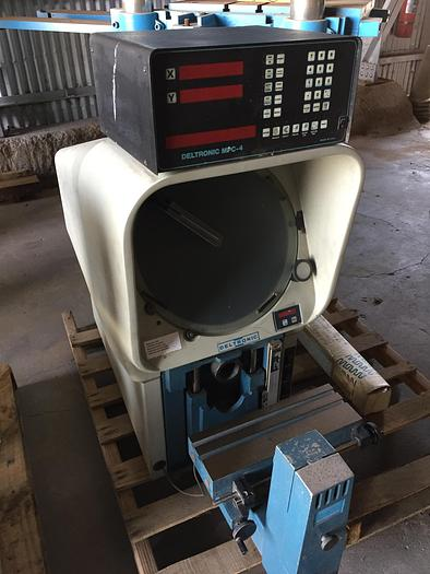 """14"""" Deltronics Mdl. DH-14 Optical Comparator"""