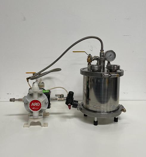 Used Beaker & Wrench Non-Jacketed Filteration