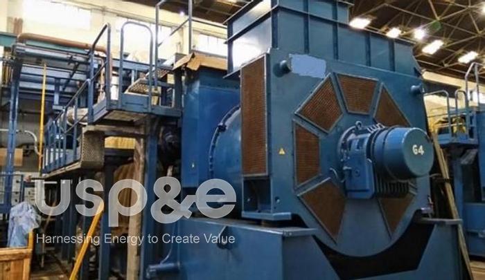 Used 6.3 MW 2010 Used Wartsila W16V34SG Natural Gas Generator Sets