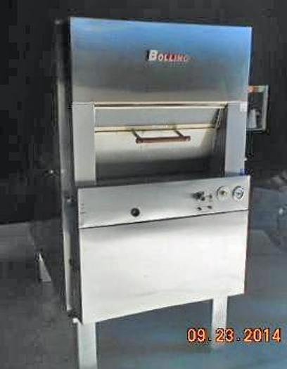 Used USED BOLLING REVOLVING 5-TRAY OVEN, MODEL NO 300-M-5