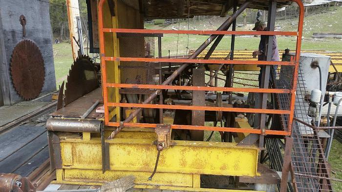 Used Circular Sawmills, Automatic