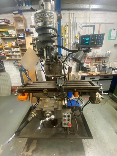 Used Hartford 2S Manual Turret Milling Machine
