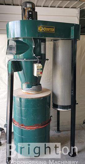 Used 2008 Craftex CT 123, Used Dust Collector, Cyclone