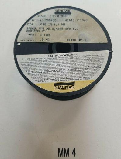 *NEW* Sandvik Stainless Steel Welding Wire.045 1.1mm ER308/308H AWS A5.9
