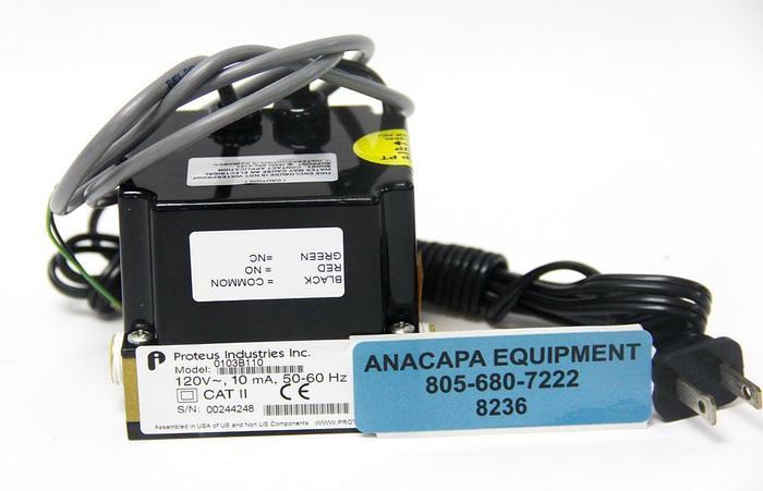 Proteus Industries 0103B110 Flow Switch, 120V ~, 10 mA, 50-60Hz (8236)W
