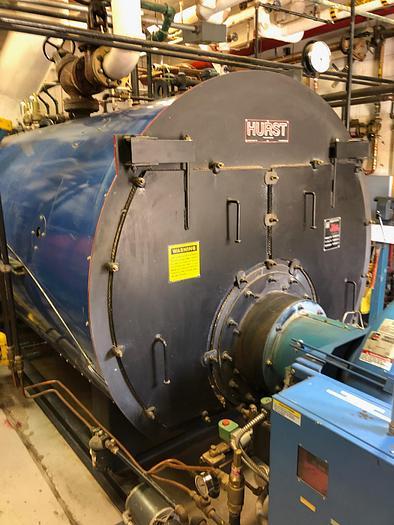 2006 Hurst Boiler 150 HP 150 PSI Steam Boiler