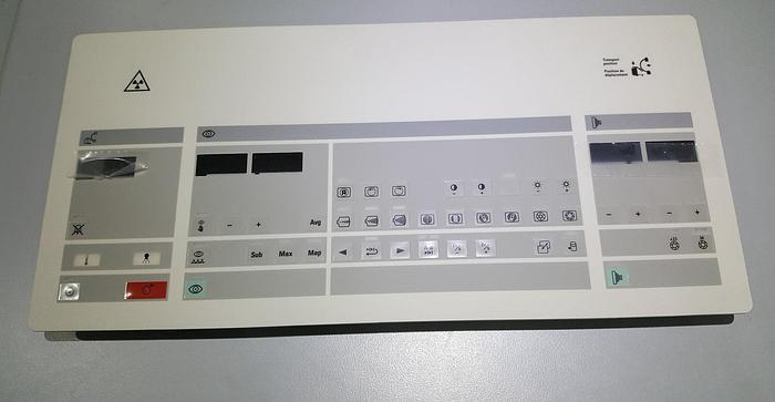 Gebraucht Philips Röntgen Tastatur PNL 4522-126-7604.3 Poly-Flex Part E2111 51 Batch code 0251A 117 002