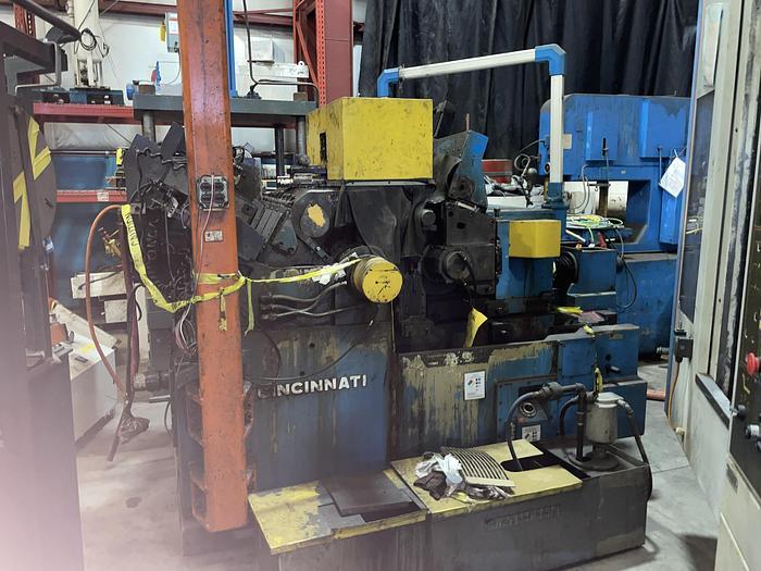 Used CINCINNATI 340-20 TWIN GRIP CENTERLESS GRINDER
