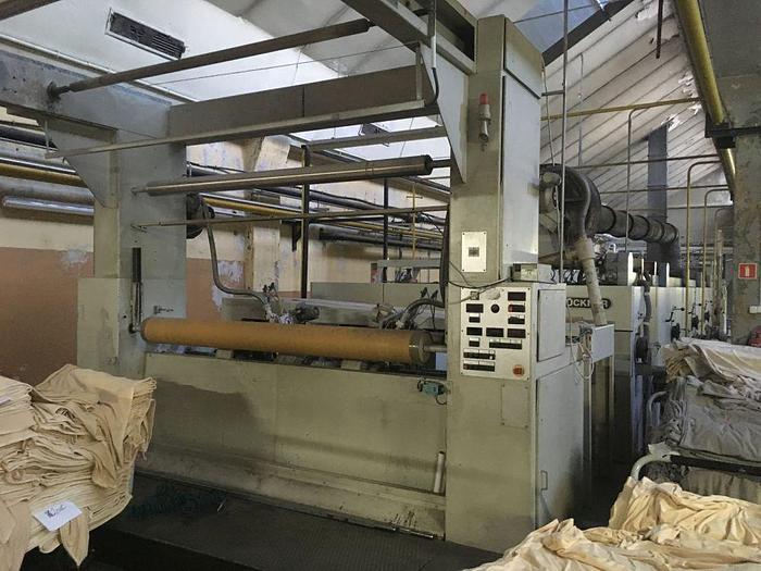 Used STENTER 1996 BRUCKNER 2200 mm GAS