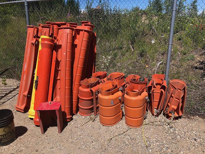 Used Chance 46 KV Line Guards & Hoods