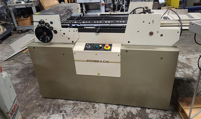 Used Rosback 220SR High Speed System for Perfing, Scoring, & Slitting
