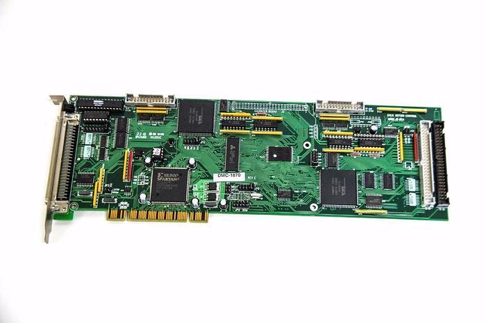 Used Galil Motion Control DMC-1870 Rev. E  DMC-18X0 7-axis PCI Motion Control (5245)