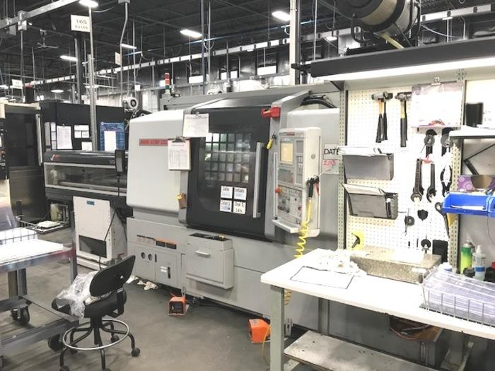 2011 MORI SEIKI NLX-2500SY/700 CNC TURNING CENTER