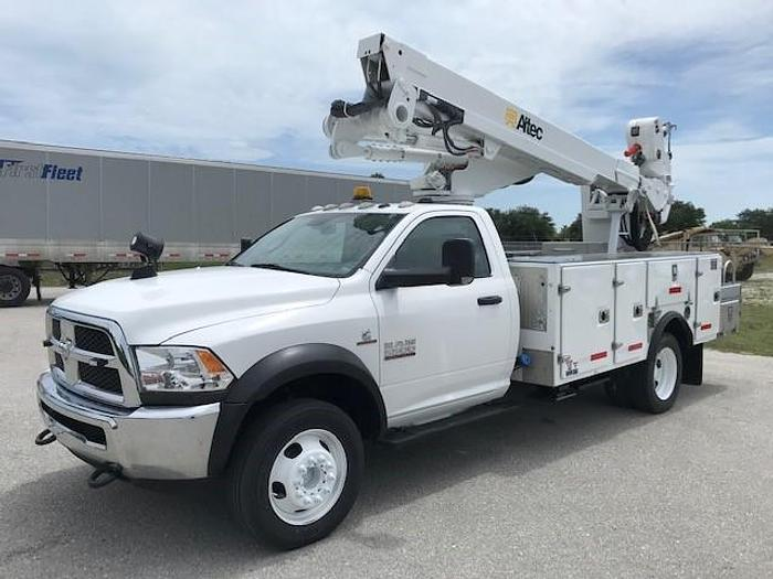 Used Altec AT40-M 45ft Articulating Telescopic Bucket Boom on 2014 Ram W5500 4x4 - C65240